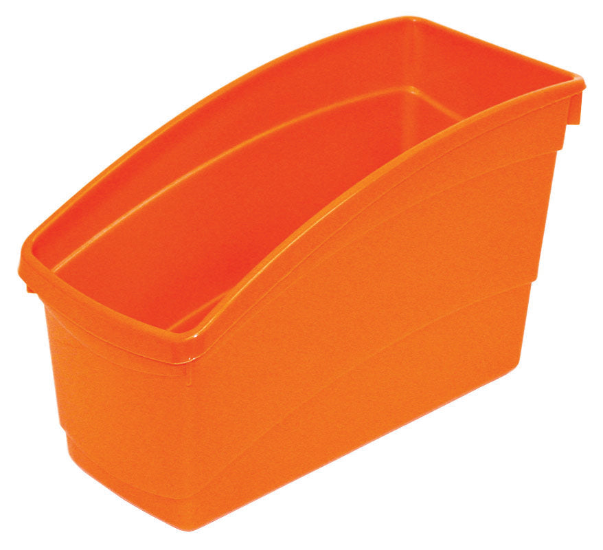 Plastic Book Bin - Orange