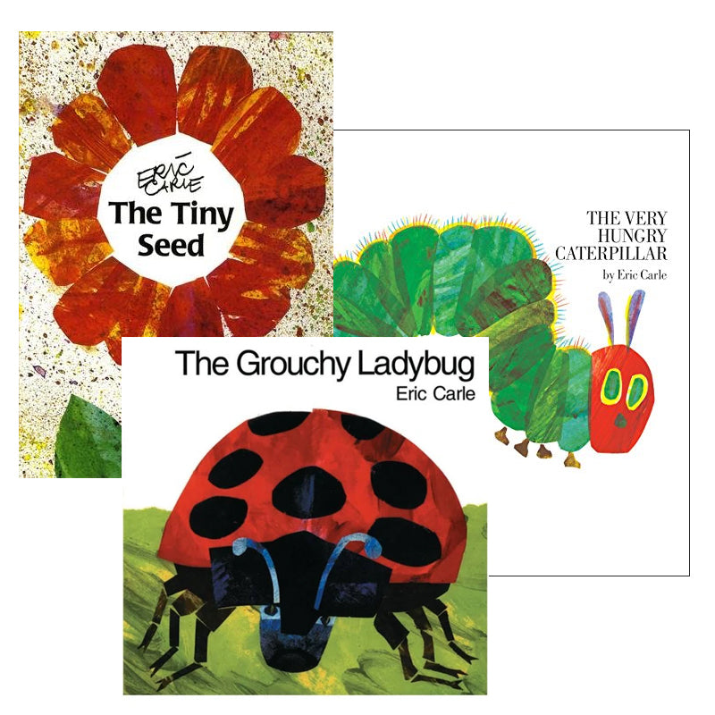 Eric Carle Spanish Author Study: Variety Pack