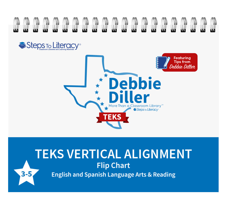 Debbie Diller: More Than A Classroom Library - TEKS Flip Chart 3-5