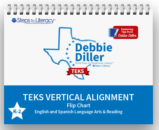 Debbie Diller: More Than A Classroom Library- TEKS Flip Chart K-2