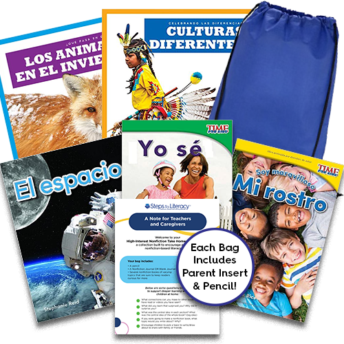 Take Home Reading Bag: Gr.K, High-Interest Nonfiction (spa, $50)
