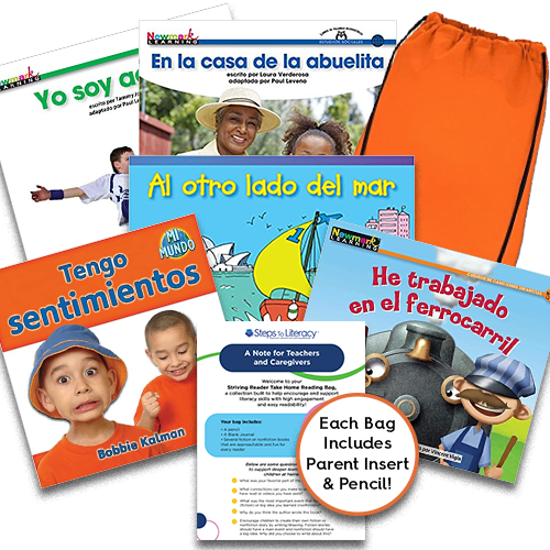 Take Home Reading Bag: Gr.K, Striving Readers (spa, $50)