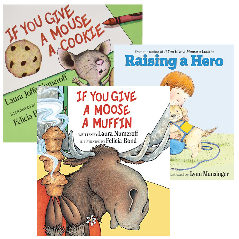 If You Give A...Series Read Alouds: Variety Pack