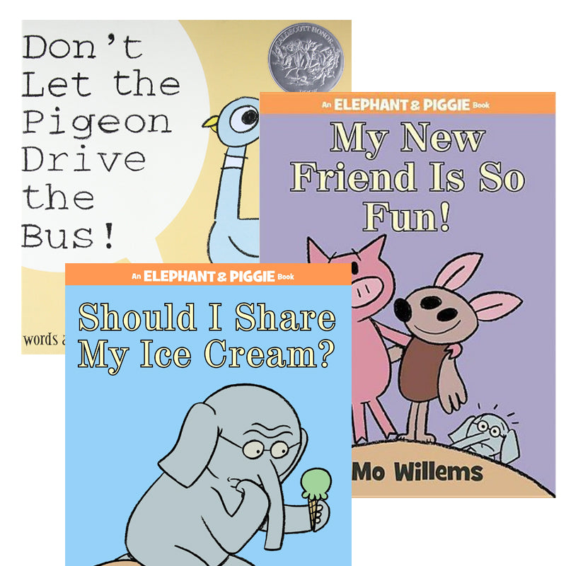 Mo Willems Author Study: Variety Pack