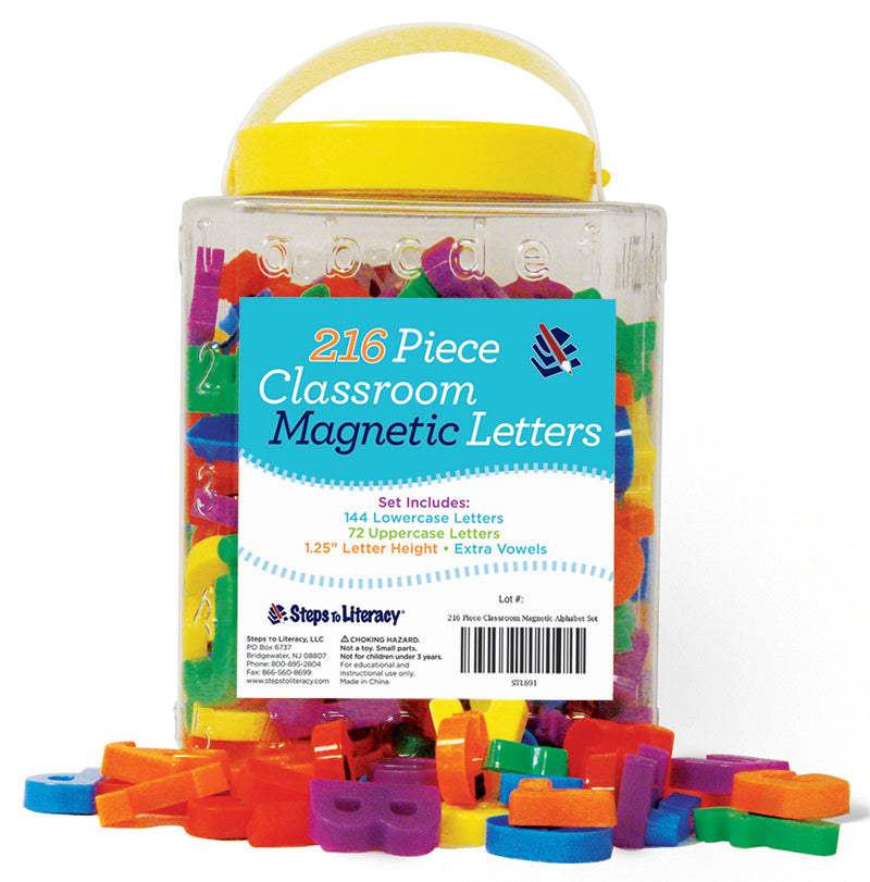 216 Piece Classroom Magnetic Alphabet Set