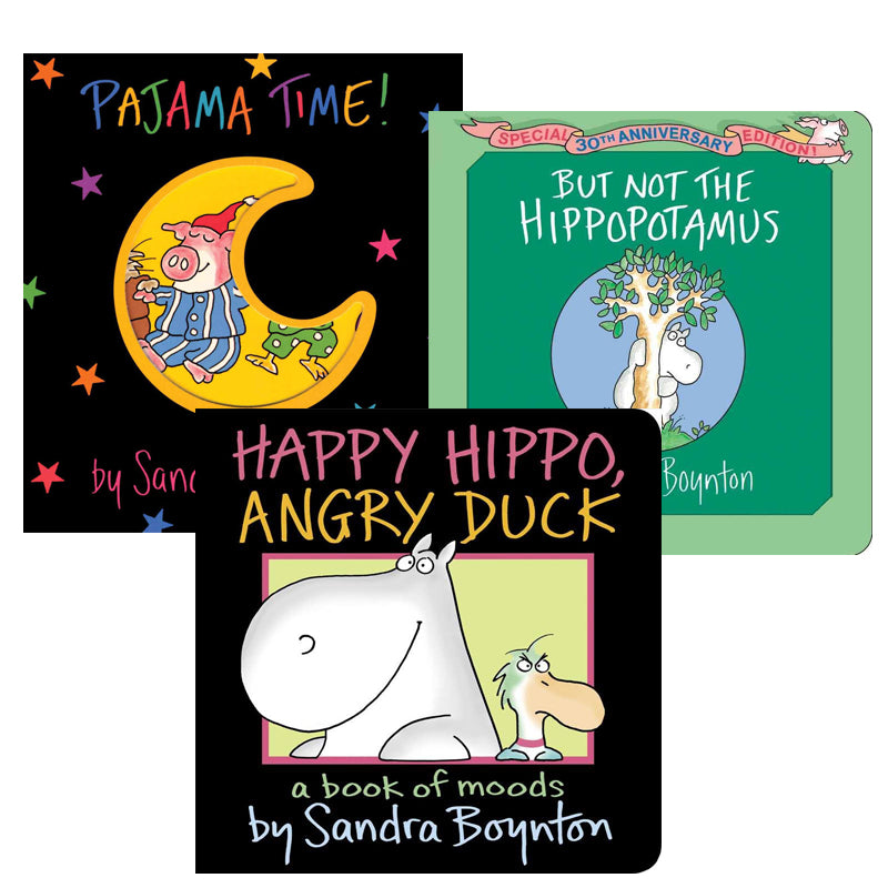 Sandra Boynton Spanish Author Study: Variety Pack
