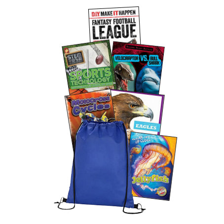 Take Home Reading Bag: Gr.6, High-Interest Nonfiction (spa, $35)