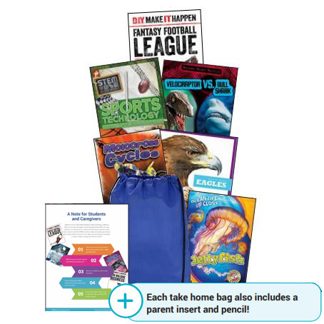 English - Take Home Bag - High-Interest Nonfiction - K