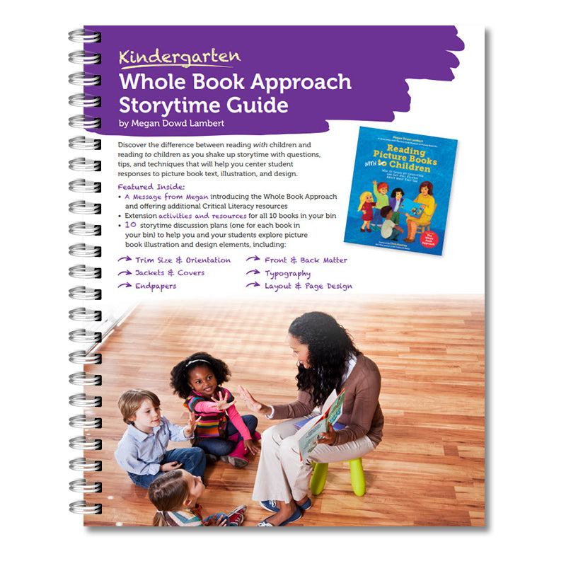 Kindergarten Whole Book Storytime Guide