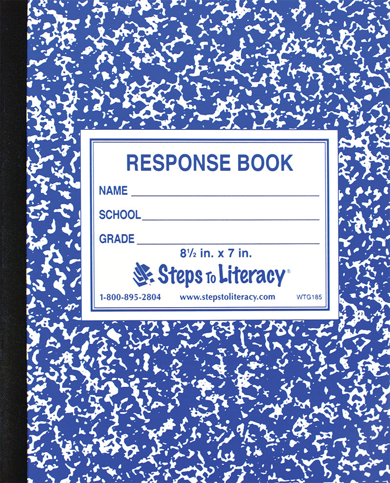 Flexible Response Book: 96 Pages