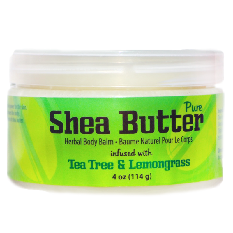 Shea Body Butter- Tea Tree & Lemongrass