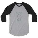 Plant On! Unisex 3/4 Sleeve Raglan Shirt
