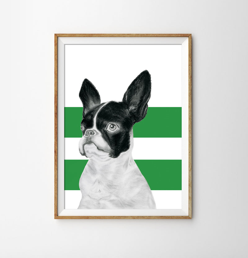Monsieur Claude de Bone - Green Stripe