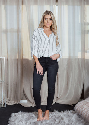 Jake Skinny Black Jeans | Bella Allure Boutique
