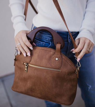 The Bessie Bag Brown