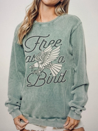 Free As A Bird Sweatshirt