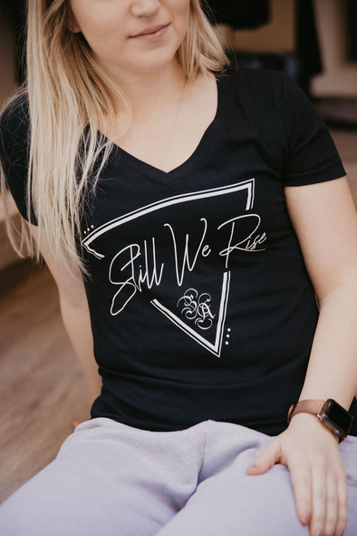 Still We Rise V-Neck T