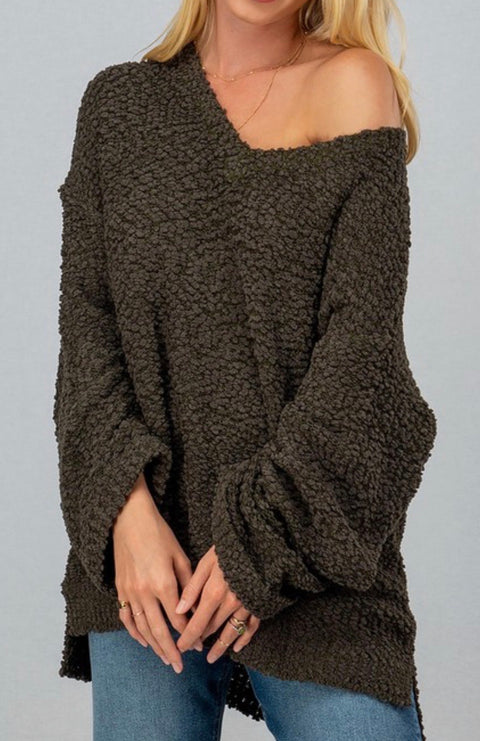 Olive My Love Sweater