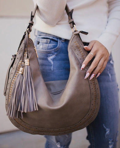 The Marlowe Bag Taupe