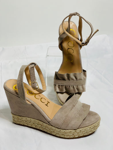 Ellie Wedge Sandal