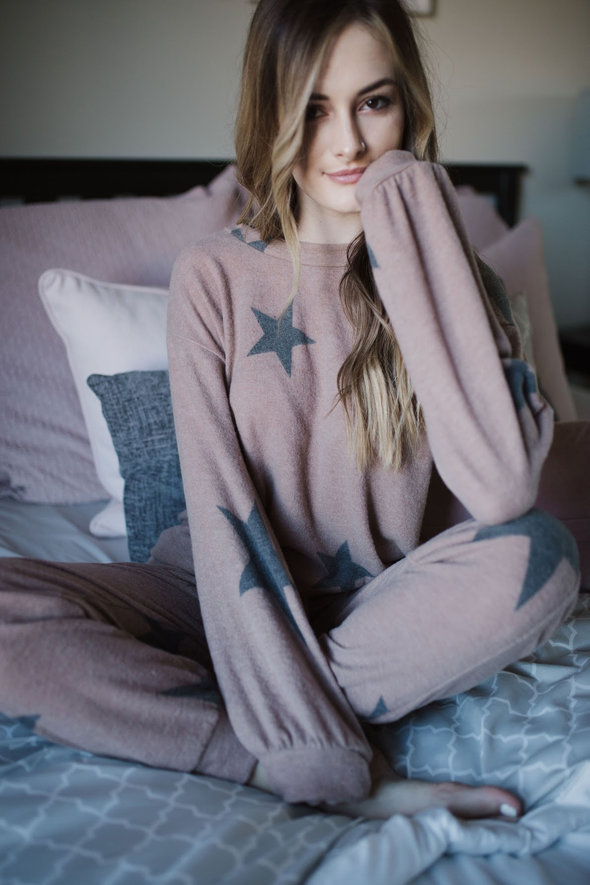 Starry Night Lounge Wear