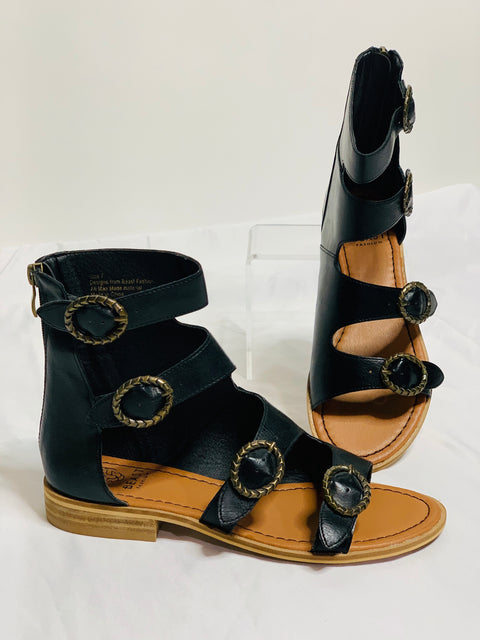 Brixton  Black Sandals