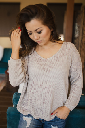 On The Coast Sweater Top