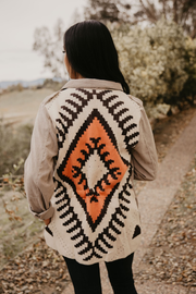 Aztec Shirt Jacket