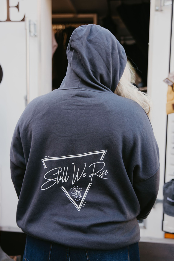 Still We Rise Charcoal Hoodie