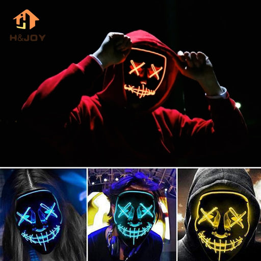 Halloween LED Glowing Mask