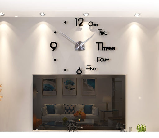 Modern Design Silent Wall Clock