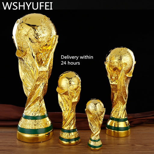 SCALE FOOTBALL TROPHY REPLICA