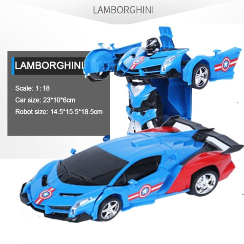 Remote Control Transformation Car Model