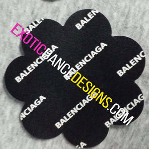10 Pair of Balenciaga Designer Nipple Pasties