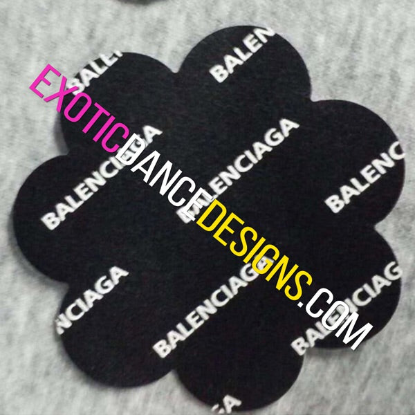 1 Pair of Balenciaga Designer Nipple Pasties