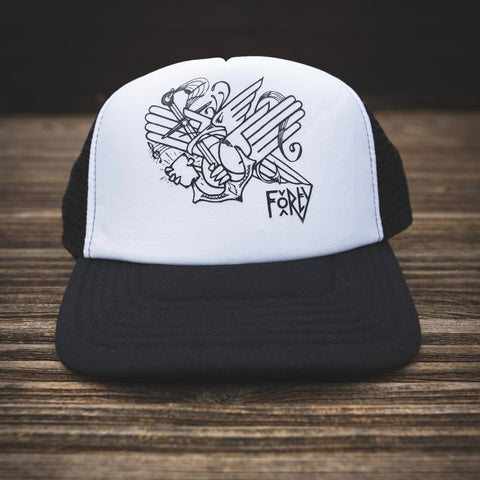 Mark Burrows X Cubic Keystone Trucker Cap