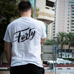 Forty OG Mens White T-Shirt