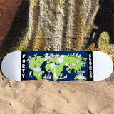 Forty Worldwide Skateboard Deck By Jon Horner