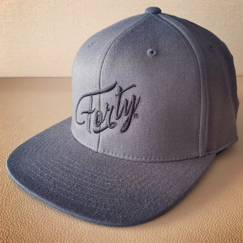 Forty OG Grey Snapback Cap