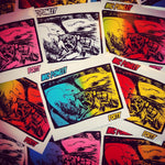 Nic Blender - Nic Powley Stickers By Jon Horner