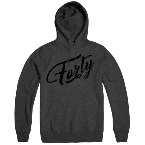 Forty OG Mens Granite Grey Lightweight Hoody