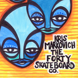 Kris Markovich Only The Lonely Pro Skateboard Deck