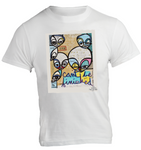 Cant Be Finished Kris Markovich Mens White T-Shirt
