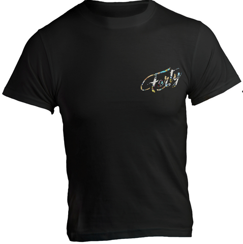 Forty OG Love KM Black T-Shirt