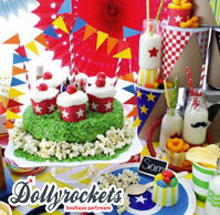 dollyrockets partyware