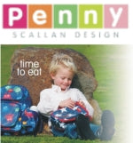 Penny Scallan backpacks and lunchboxes