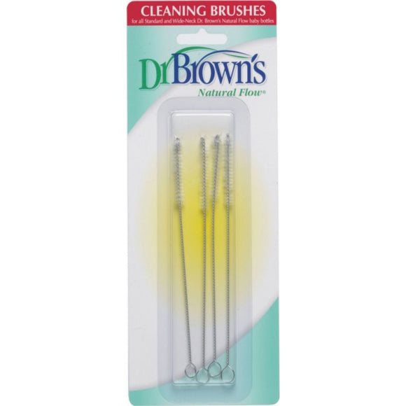 Dr Browns Baby Bottle Vent Cleaning Brushes - 4Pk