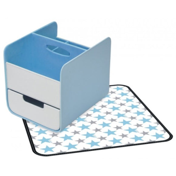 b box Blue Lagoon Nappy Caddy