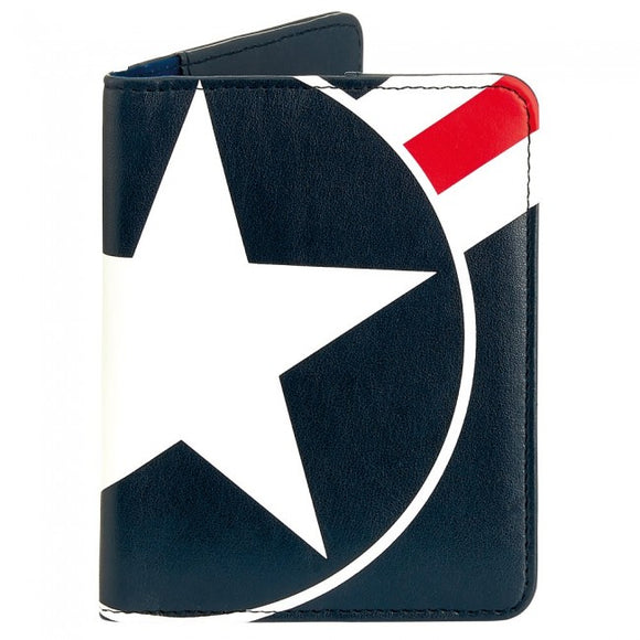 Bobble Art Star And Stripe Passport Holder