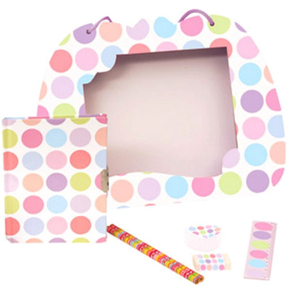 Bobble Art Spots Stationery Set With Pens